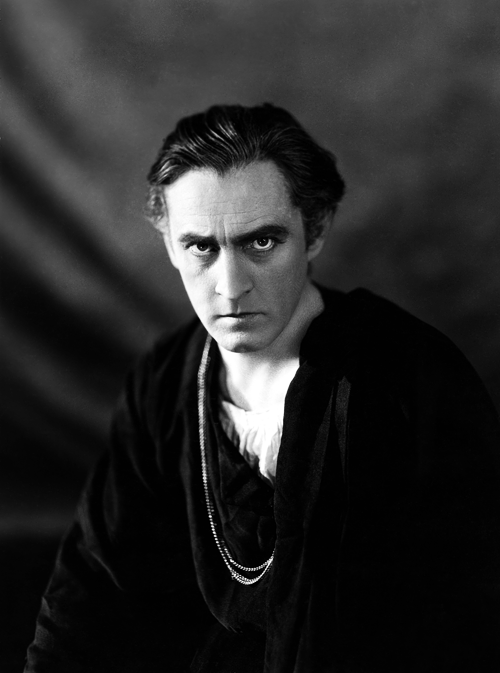 "steamboatbilljr:  The night that John Barrymore—who bore a lifelong resistance to the family trade—made his debut as a star in The Fortune Hunter in 1909, he spoke with his brother Lionel.  ""Well, Jake,"" Lionel said, ""it looks like you are hooked for good.""  ""What in the hell happened?"" Jack asked. ""Who am I?"" ""It usually takes me two nights,"" Lionel replied, ""to find out what happened on the first. You'll live."" ""But I'm scared stiff,"" Jack said. ""Why didn't I give a stinking performance?"" ""Because,"" said Lionel, ""you couldn't."""