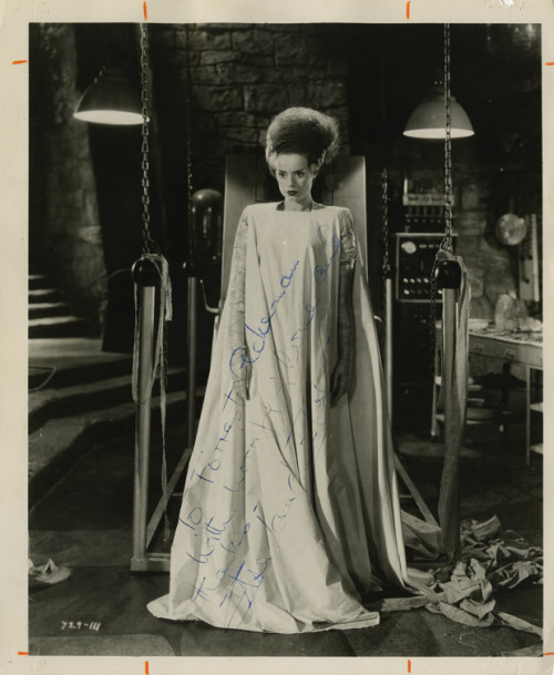 suicideblonde:  Elsa Lanchester as The Bride of Frankenstein