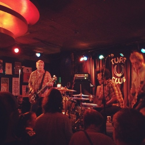 Mike Watt. Thunder broom sounding really good.  (Taken with Instagram at Turf Club)