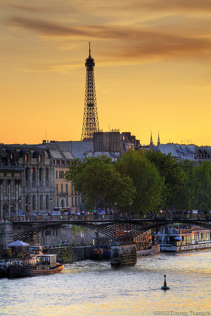 Parisian Sunset  | by © DazaT | via margheritinaest1993