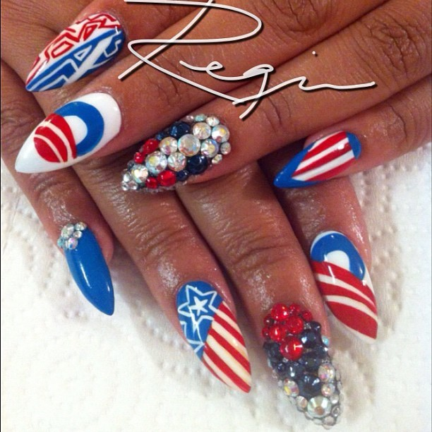 nailsbyregina:  @BarackObama nail art for my favorite pharmacist Dr. @greatwhyte! #MyPresidentisBlack #ThisSeatIsTaken #iGotHisBack #Decision2012 #CoolestPresidentEver (Taken with Instagram)