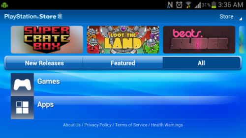 (via How to Install PlayStation Mobile on any Android Device - PlayStation LifeStyle)  PlayStation Mobile just launched for the Vita and PlayStation certified Android phones, but if you're not in the very select group of certified devices supporting PlayStation Mobile you're not out of luck; because anyone with a rooted Android phone can easily install PlayStation Mobile on their device.  ________________Click Here