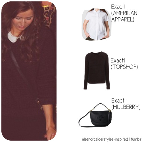 Eleanor's exact (top portion) of her outfit while exiting the xfactor studios! Xx