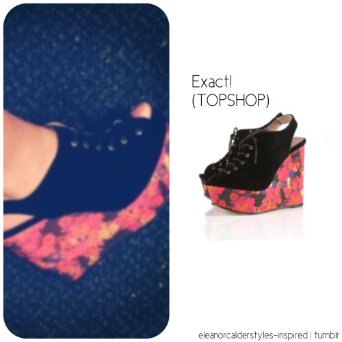 Eleanor's exact heels from her instagram post (: xx