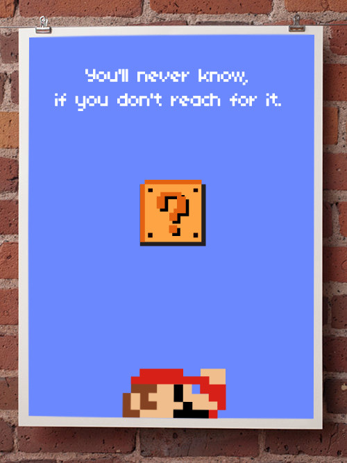 it8bit:  You'll Never Know… Created by Laura Gomez