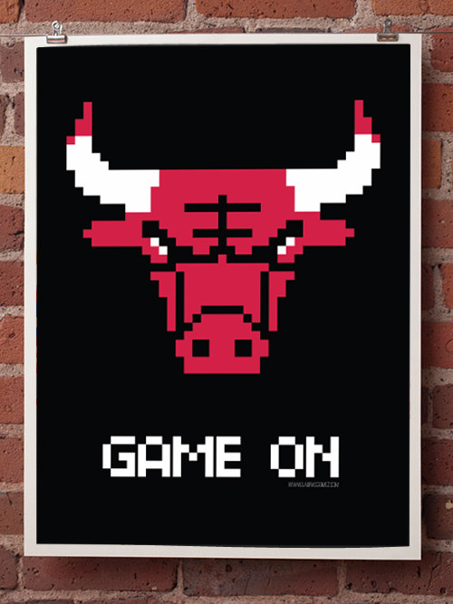 it8bit:  Game On Created by Laura Gomez