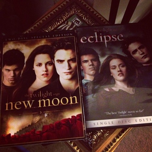 I have #never seen any of the #twilight #movies I'm gonna try to change that!! 😀😉 (Taken with Instagram)