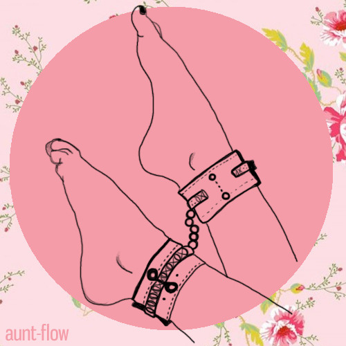 justastrumpet:  Restraints make me feel very girly