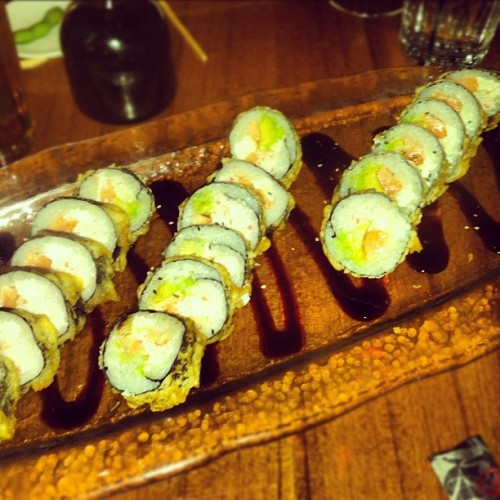 omg sushi 😍 #sushi #yum #heaven #hungry #mmmmm (Taken with Instagram)