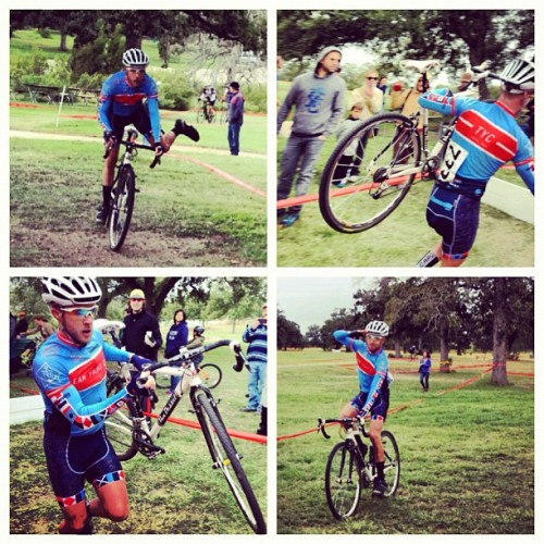 @TeamYachtClub's Brock killed Sunday's #SixShooter Cat 4 race starting in the last row & winning solo w/45-60 sec lead…in his first #CX race - #cyclocross #cycling #bikeATX #athlete  (Taken with Instagram)