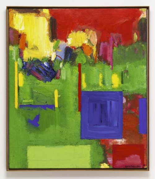 Hans Hofmann, Image of Cape Cod: The Pond Country, Wellfleet, 1961.  Oil on canvas, Walker Art Center.