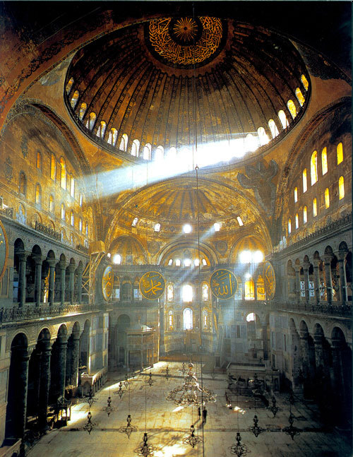 ancient-serpent:  Hagia Sophia, Istanbul, Turkey