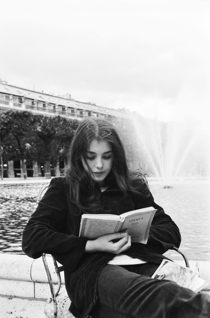 Isabelle Adjani photographed by Jean-Claude Deutsch, 1973.