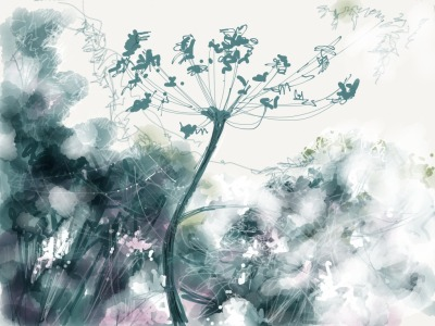 A tranquil sketch to start the week by UK artist and illustrator Sylvia Lynch.  via sylvialynch on tumblr