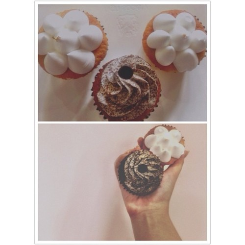 #Cupcakes from #HighSociety to chase the Monday blues away x (Taken with Instagram)