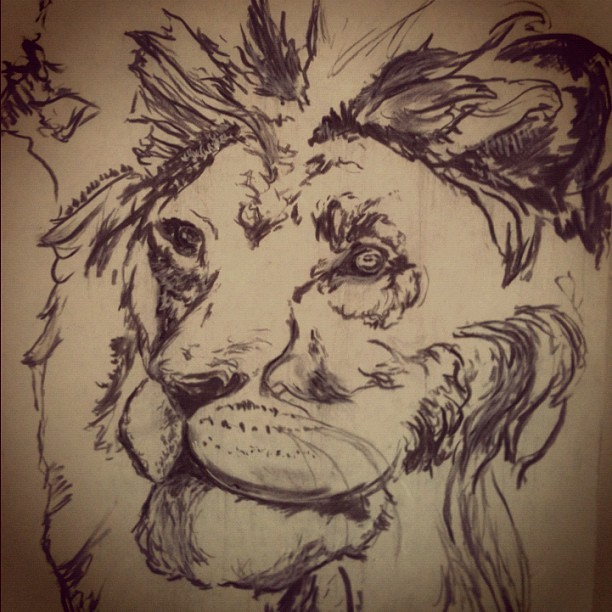 Sketchin (Taken with Instagram)