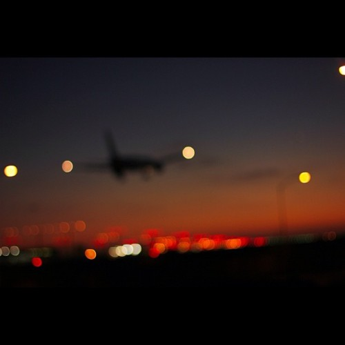 Bokeh! LAX area. f/1.6 1/60 ISO 100 EF 50mm (kit lens). #photography #photo #photos #pic #pics #picture #pictures #snapshot #art #beautiful #instagood #picoftheday #photooftheday #color #all_shots #exposure #composition #focus #capture #moment#sunset #sun #beautiful #red #orange #pink #sky #skyporn #cloudporn #nature #clouds #horizon #instagood #gorgeous #warm #view #night #silhouette #instasky #all_sunsets #sunsetsniper #igers #igla #insta #instahub #bokeh #liveanddieinla (Taken with Instagram at LAX Landing Viewpoint)