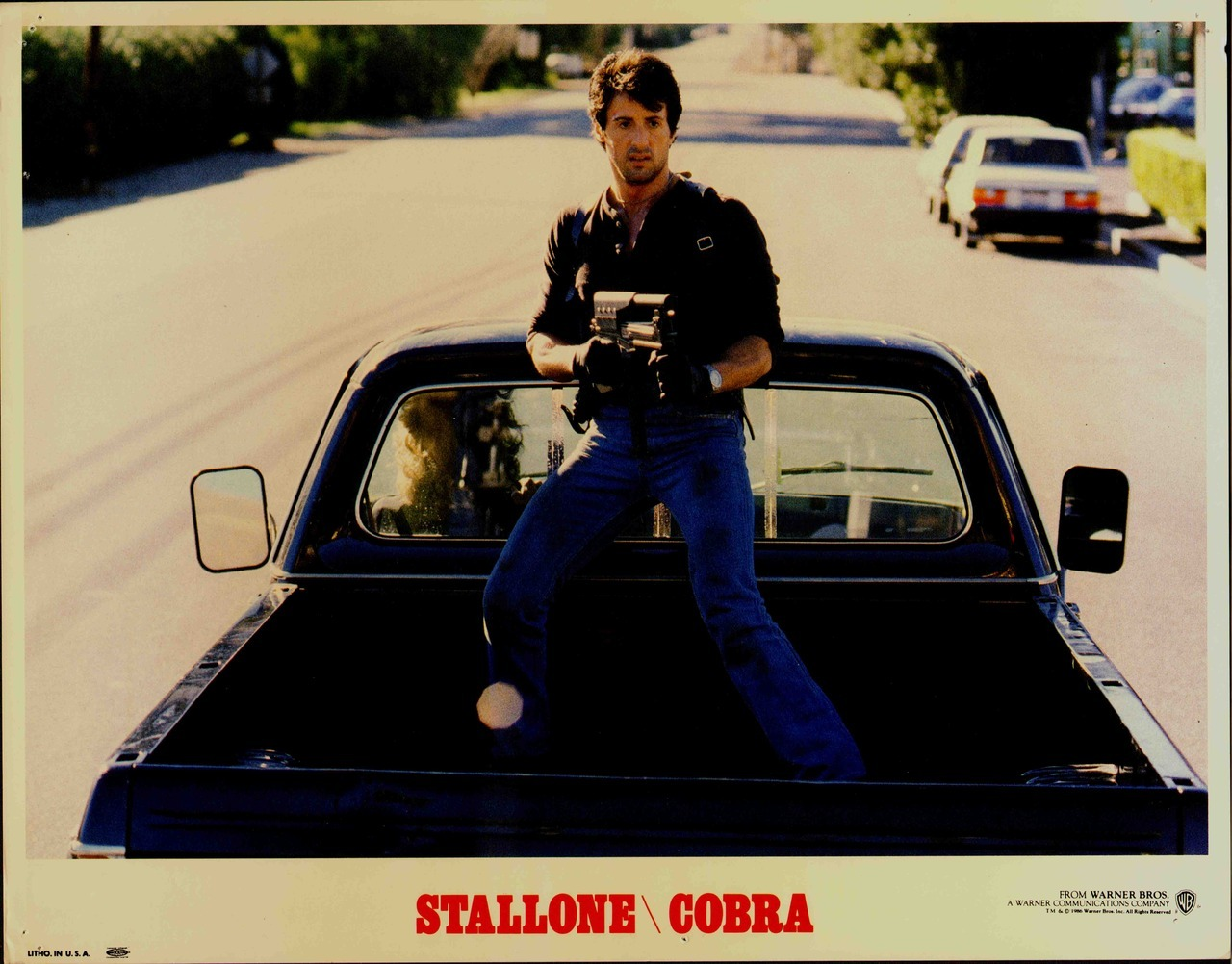 Cobra, US lobby card. 1986 Submitted by Ricardo
