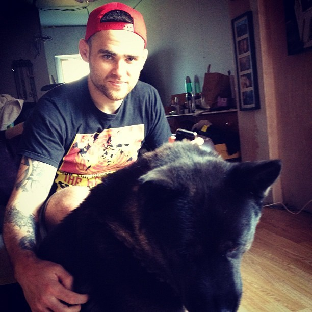 #man and #beast - @dougmaths and sonny! @heist25 @hafrung  (Taken with Instagram)