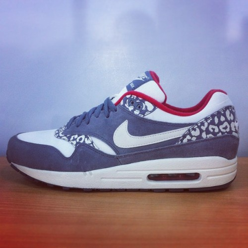 Look what just landed.. Nike Women's Air Max 1 Leopard pack - available in selected stores now and online tomorrow.. #size #nike #air #max #leopard #sizehq  (Taken with Instagram)
