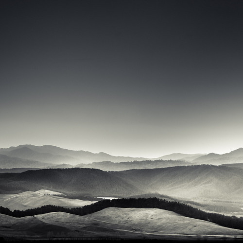 Via Flickr: Black and White New Zealand Landscape