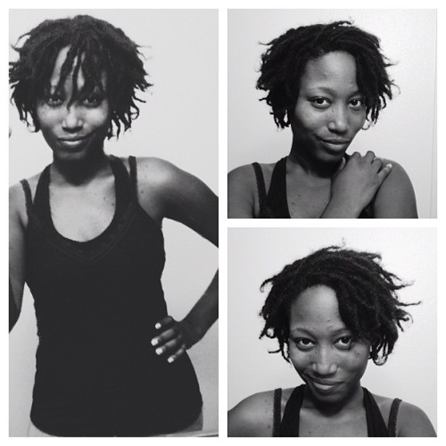 Crooked smiles and a Bantu Knot-out! #kinkyhair #afrohair #naturalhair #naturalhairdaily #teamdreads #teamnatural #blackgirlsrock #blackisbeautiful #dreads #dreads4life #coiffuresocial (Taken with Instagram)