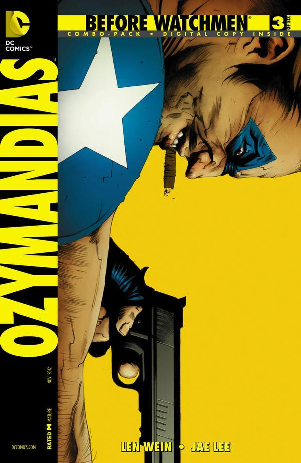 Before Watchmen Ozymandias #3. Cover by Jae Lee.