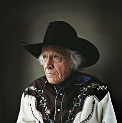 Snapshot of The Day Ramblin' Jack Elliott, 78, photographed at the Soho Grand Hotel, New York, 4 May 2009 by Jamie-James Medina