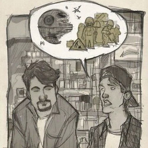 #Clerks #Dante #Randall #KevinSmith #StarWars #conversation (Taken with Instagram)