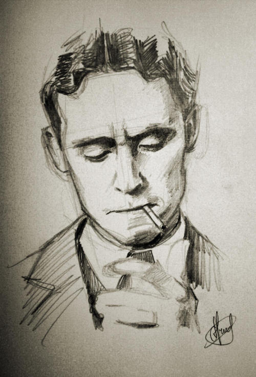 hashtag-genius:  Tom Hiddleston as F. Scott Fitzgerald in Midnight in Paris (Woody Allen)