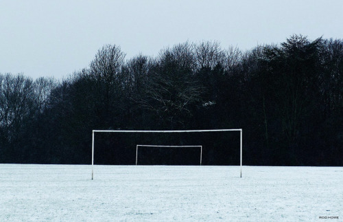 Frozen pitch. Winter's a comin'…