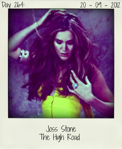 'The High Road' is the latest single to be taken off Joss Stone's album 'The Soul Sessions Vol. 2'. An absolute album highlight. This is Joss Stone at her very best. Wow!