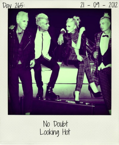 'Do you think I'm lookin' hot?' Gwen asks her friends from No Doubt. The latest single taken off the amazing 'Push And Shove' album is classic No Doubt. Catchy, funky and in your face.