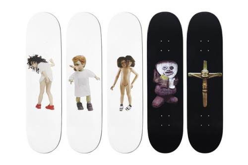 theclassyissue:  Chapman Brothers for Supreme Skate Decks