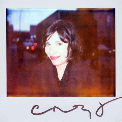 portroids:  Carrie Brownstein - Because she is amazingly talented and I can't wait for Portlandia to return January 4 (2013) on IFC!