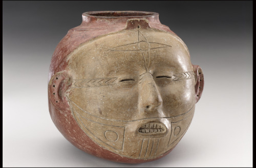 Vessel in the Shape of a Human Head Mississippian, 1300-1500 The National Museum of the American Indian
