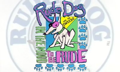 Rude Dog and the Dweebs! Another childhood cartoon I rediscovered while searching for a totally different cartoon, about small blue aliens and the Apocalypse. Or something like that.  Dude, follow RadRecorder.