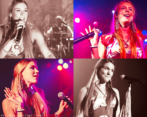 Joss Stone live at Royal Oak Music, Michigan.