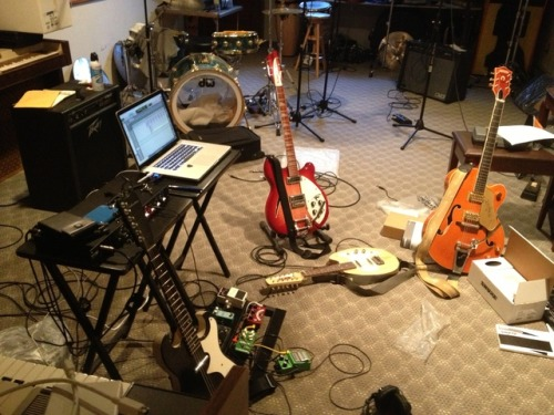 Where we been?  Hard at work on album #2.