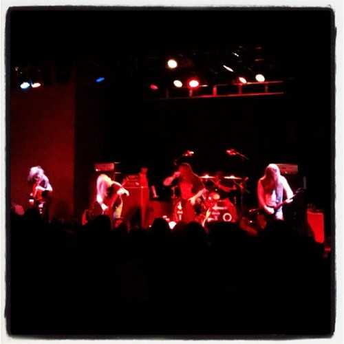 Cannibal Fuckin' Corpse #Metal #DeathMetal #CannibalCorpse (Taken with Instagram at The Hi-Fi)