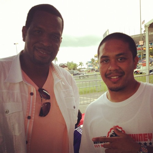 Willy Chin alongside the Mayor of Miami - Uncle Luke @unclelukereal1  (Taken with Instagram)