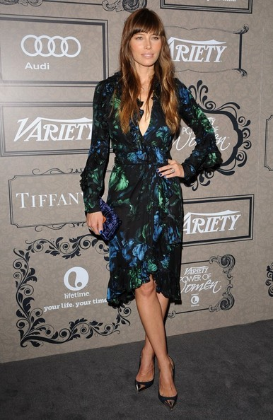 Jessica Biel at the Variety's Power of Women Event; LA, USA Without doubt Jessica was the best dressed for the event. I love this Gucci dress from recent collection. Jessica looks good and the dress really suits her.