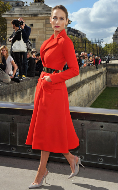 vogue:  Leelee Sobieski in Christian Dior Haute CoutureVote for your favorite best dressed woman of the week on Vogue.com.
