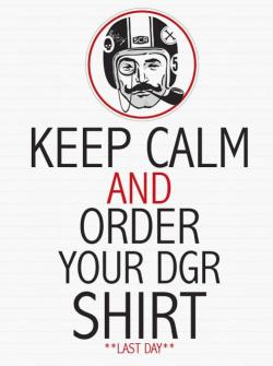 garageprojectmotorcycles:  Got your Distinguished Gentleman's Ride T-Shirt yet? Get it here…now  Keep calm
