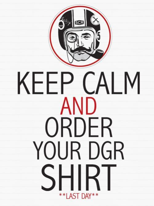 Got your Distinguished Gentleman's Ride T-Shirt yet? Get it here…now