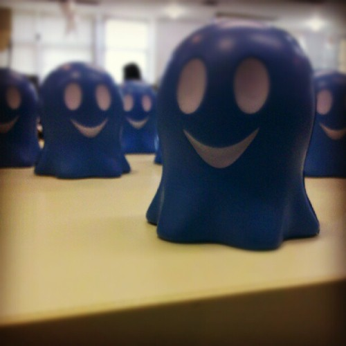 fabiophms:  Bu! #ghostery (Taken with Instagram at Digital Cube)  Ghosty army