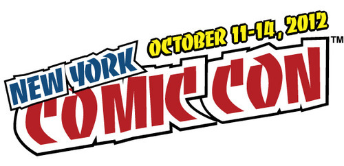 Official press logo for the 2012 New York Comic-Con.