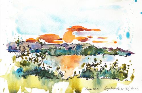 Sunset #3 (by Jennifer Lawson)