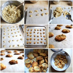 #chocolate #chip #cookies #chocolatechipcookies #baking #cooking #kitchen #food #foodporn #process #grid #makingof #nofilter (Taken with Instagram)
