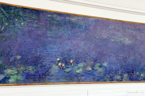 Les Nymphéas by Monet at the L'Orangerie.